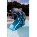 Tobogán delfín