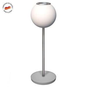 Cenicero de pie esfera