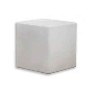 Cubo 43x43 blanco