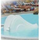 Tobogán boby piscinas