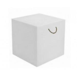Cubo 43x43 blanco con ASA