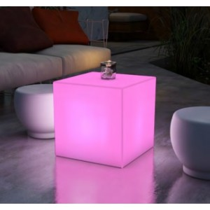 Cubo iluminado 43x43 RGB